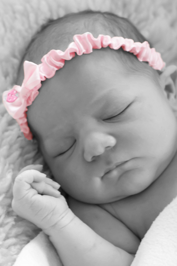 new born baby girl photography But maybe a different headband