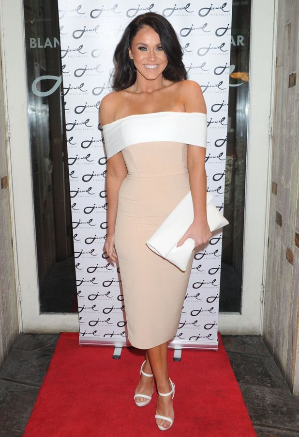 Geordie Shore's Vicky Pattison is elegant in off-the-shoulder dress - Fashion News - Reveal