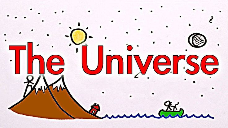 What Is The Universe?, via YouTube Minute Physics Channel. :)