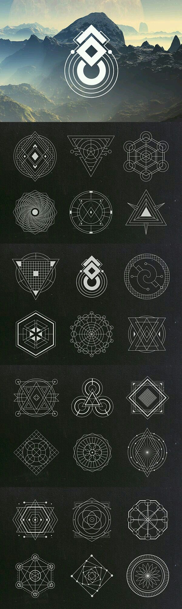 Some abstract Symbols