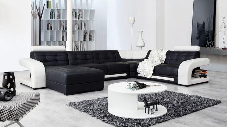 Casanova Leather Modular Lounge Option A - Lounge Life