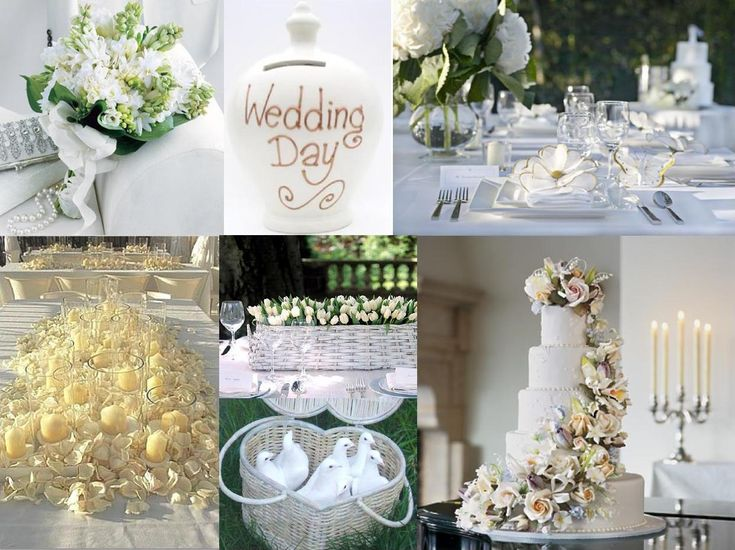 Image detail for -Pure white wedding decoration | Weddings on the French Riviera