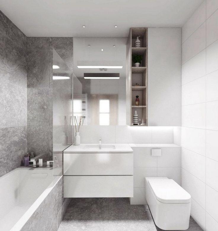 Grosse Fliesen Fur Kleines Bad Tipps Fliesenformate Und Bilder Bad Einrichten Moderne Kleine Badezimmer Kleine Badezimmer