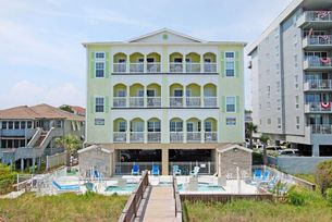Aces Wild Diamond | Oceanfront Beach House Rental |  North Myrtle Beach, SC....$4280