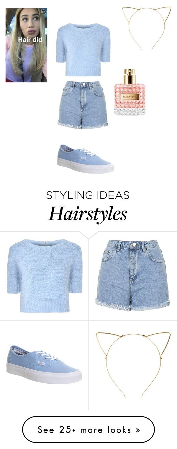 """""""Hair did"""" by lolofashion on Polyvore featuring Glamorous, Topshop, BP. and Vans"""