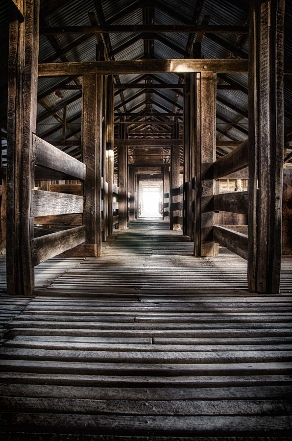"""Kinchega Woolshed"" I love this photograph of an Australian wool shed. S"