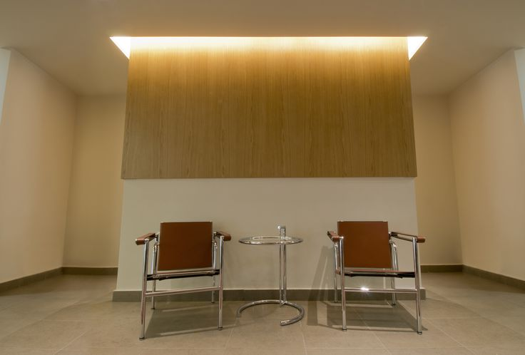 Partition Wall in the Waiting Area