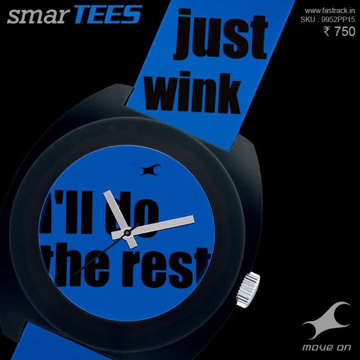 Discussion closed. #SmarTEES  www.fastrack.in/product/9912PP15  #Fastrack #Blue #Fashion #Lines #Watch
