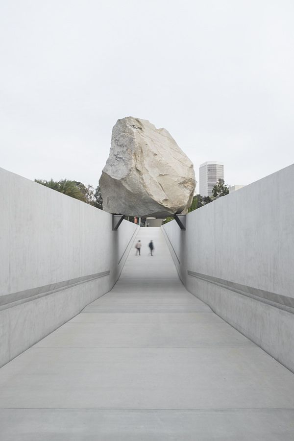 Michael Heizer's Levitated Michael Heizer's Levitated Mass at LACMA  1090 | Flickr - Photo Sharing!