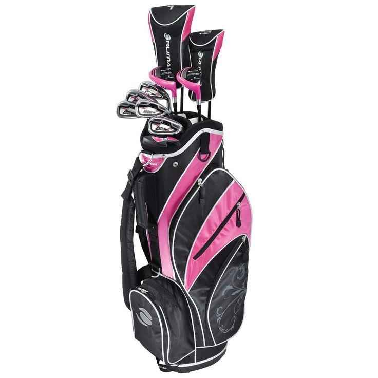 Orlimar Ladies Pink ATS Complete Golf Club Sets