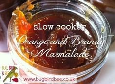 Slow Cooker Orange Marmalade