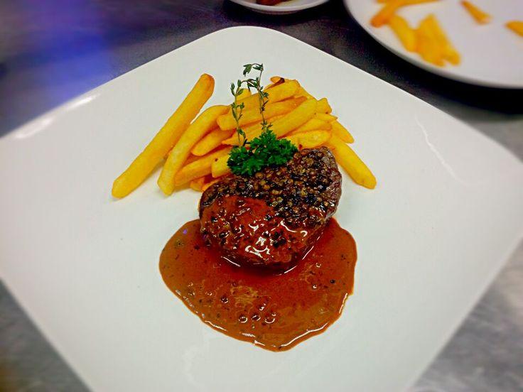 Tenderloin Steak Au Proivre