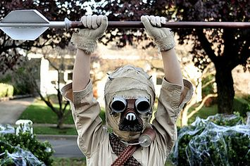 Home made tusken costume