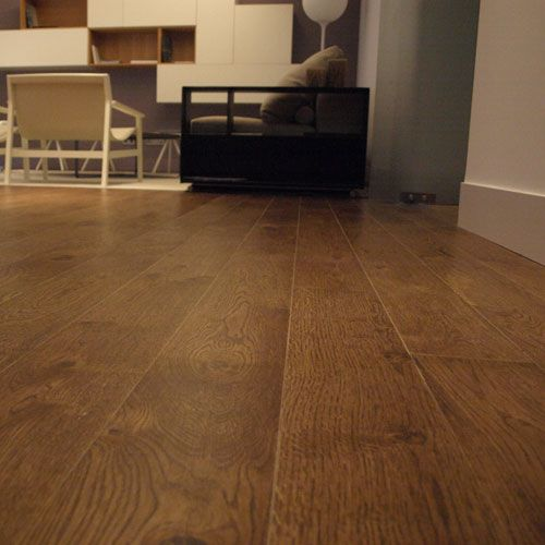 Tarima de madera maciza junckers roble fussion variation - Tarima de roble ...