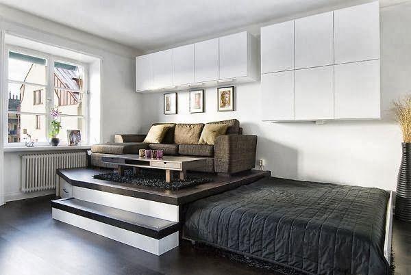 Cama oculta  Muebles para espacios pequeños  Pinterest  Ideas