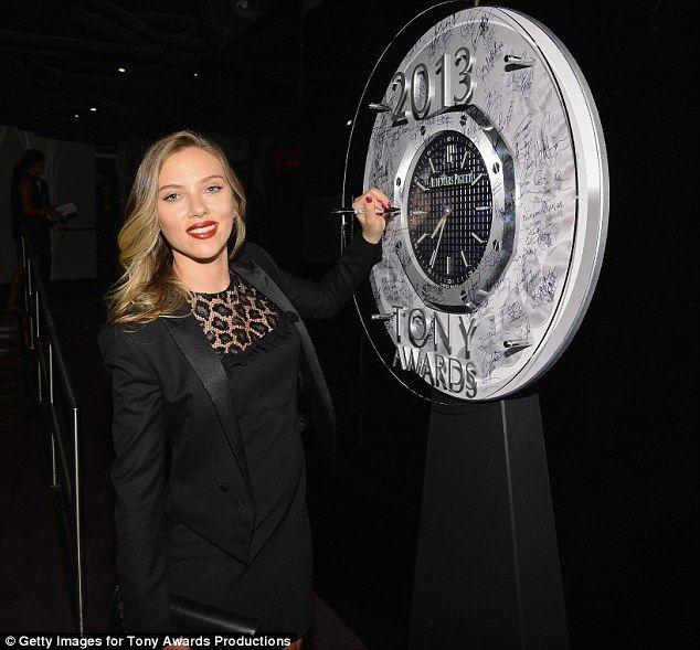 Scarlett Johansson en los premios Tony