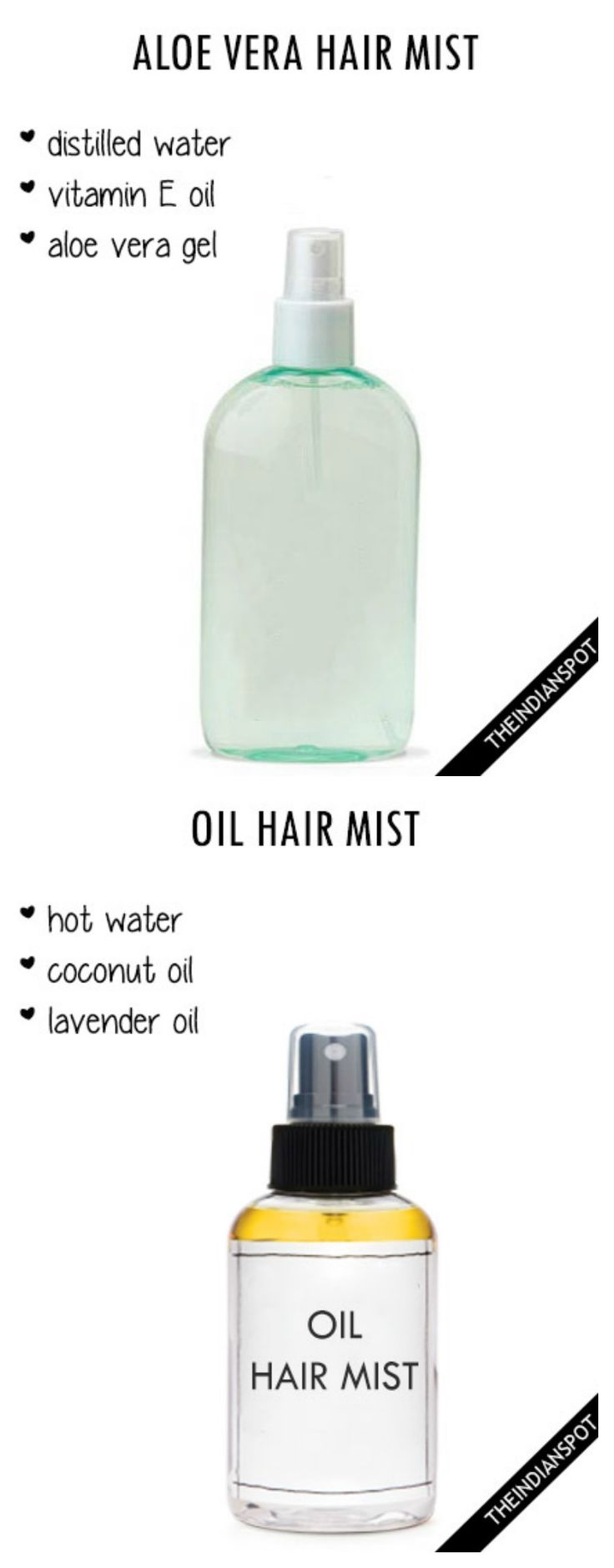 Diy hair mists