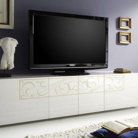 7 best Meuble télé design images on Pinterest Tv unit design - roulette de porte de placard
