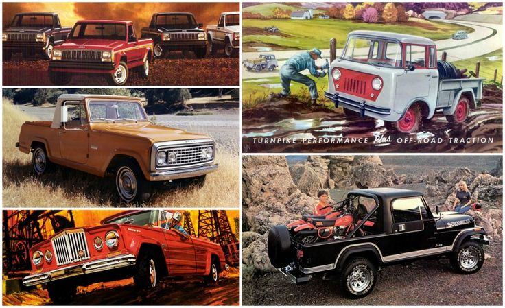 A Visual History of Jeep Pickup Trucks: The Lineage Is Longer than You Think – Feature – Car and Driver