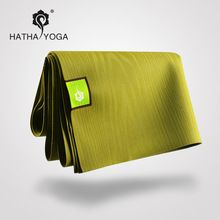 Hatha Caoutchouc Naturel antidérapant tapis de yoga yoga couverture 1.5mm pliant ultra-mince tapis de fitness()