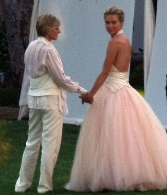 Portia De Rossi Wedding Gown: 1000+ Images About Wedding Attire