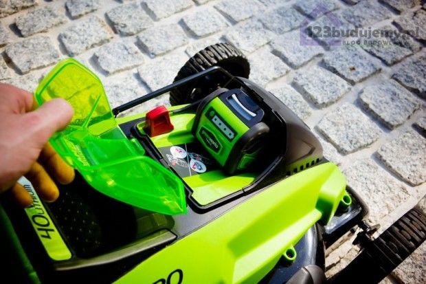 Kosiarka akumulatorowa GD40LM45 marki Greenworks #kosiarka #greenworks Tools