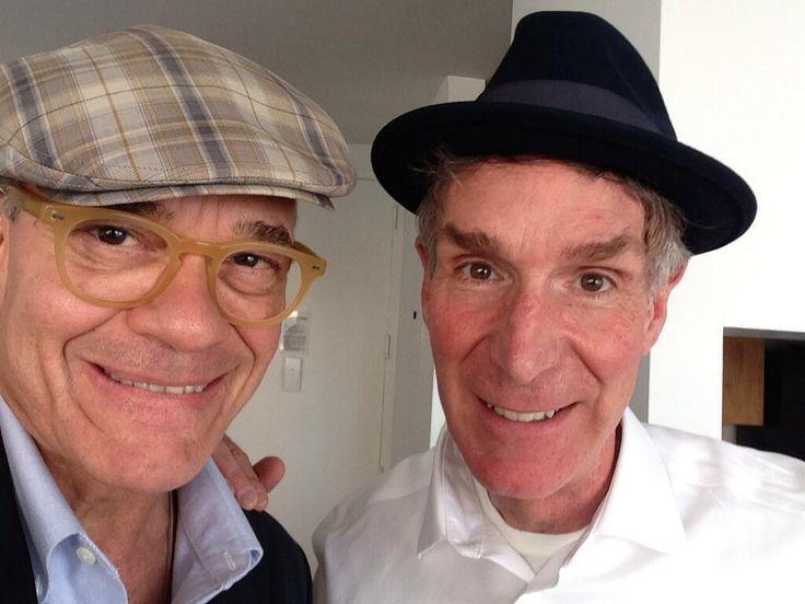 Bill Nye and Robert Picardo