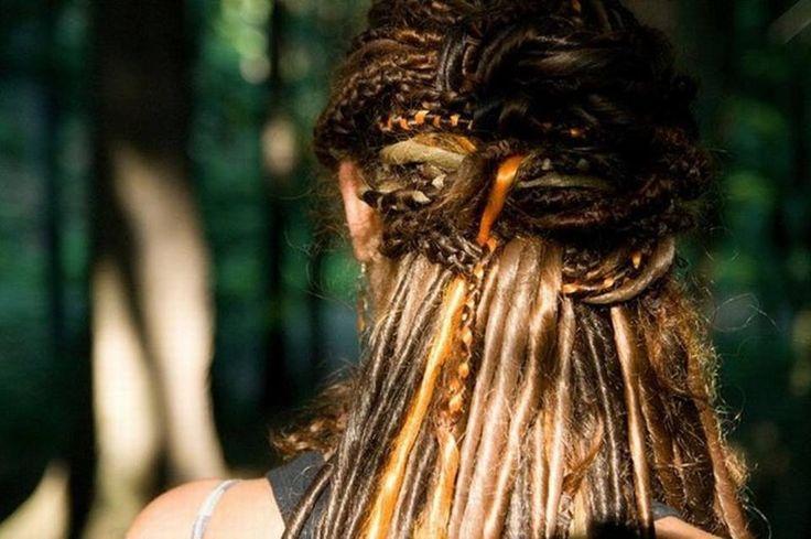 Celtic dreadlocks :: Shop DreadStop.Com for Premium Leather Dread Cuff #dreadstop