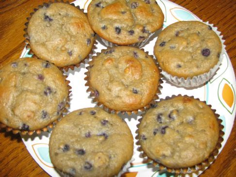 Blueberry Muffins (Zone Diet, 1P 1C 1F) Recipe