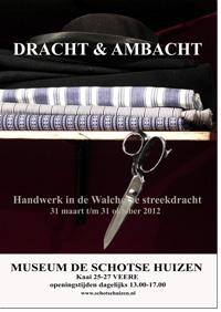 tentoonstelling  'Dracht & Ambacht'  - handwerk in de Walcherse streekdracht -
