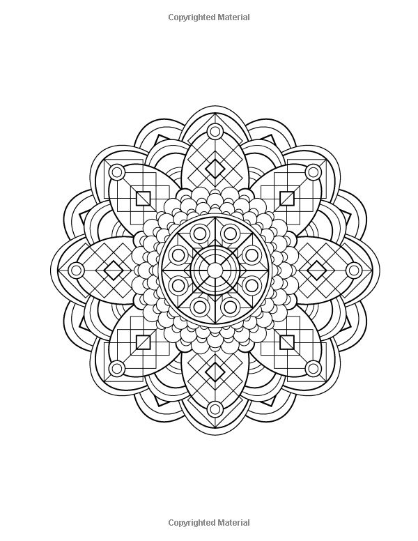 Mandala Design Coloring Book Volume 1 Jenean Morrison 9780615913650 Amazon