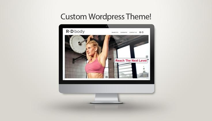 Custom Wordpress Website for Gym