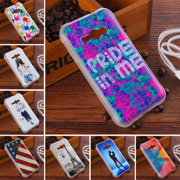 """For Samsung Galaxy J1 ACE Case New 10 style Painted Pattern Soft TPU Case For Samsung Galaxy J1ACE Neo J110 4.3"""" Cases"""
