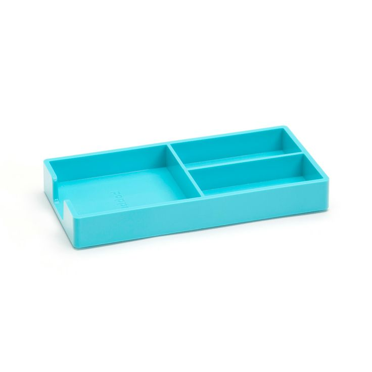 Nice Poppin Aqua Bits + Bobs Tray | Desk Accessories | Cool Office Supplies  #workhappy