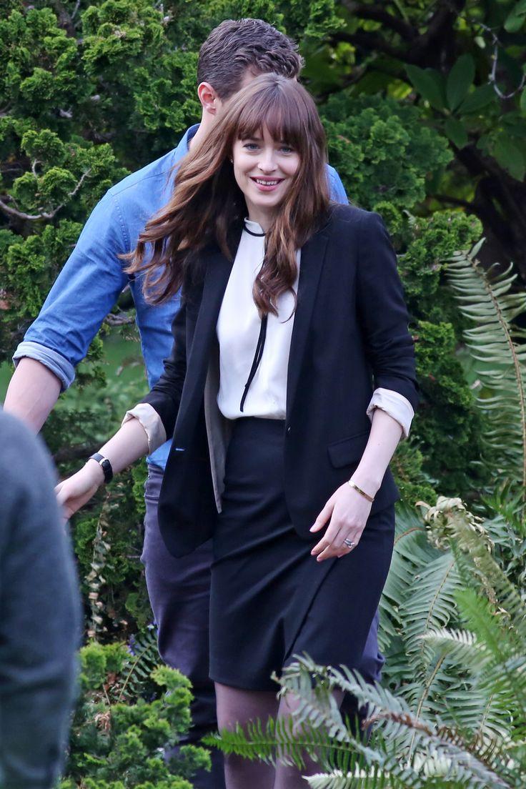 Jamie Dornan And Dakota Johnson Film Fifty Shades Darker Scenes As Husband And Wife Fsog The