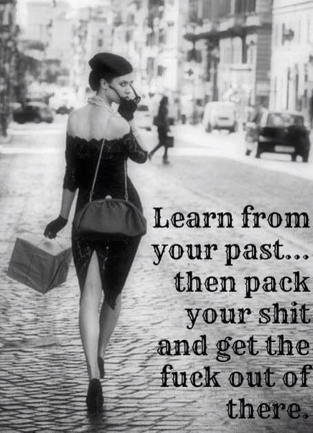 Learn from your past....