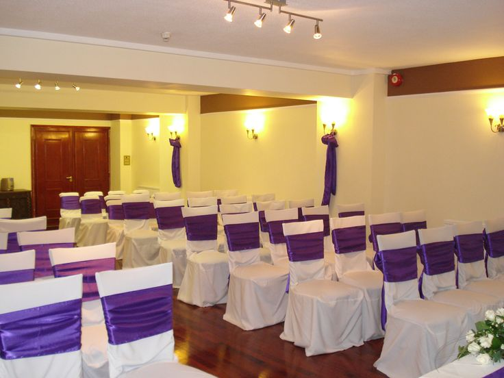 The Nidd set up for a civil ceremony