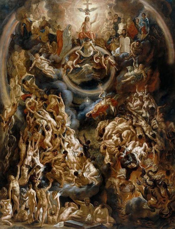 Lzej Mi Bedzie Mt 11 20 24 Sacred Art Baroque Painting Baroque Art