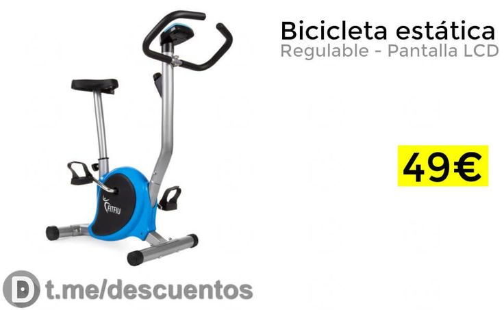 Bicicleta estática regulable por 49 - http://ift.tt/2vM6wCU