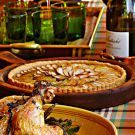 Try the Classic Apple Tart with Frangipane Recipe on Williams-Sonoma.com, great for Thanksgiving, me thinks