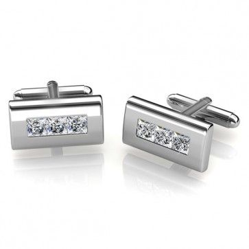 Buy Diamond Color Cufflinks made with Swarovski® Crystals Online. Buy Now: http://www.glimmering.co.in/diamond-color-cufflinks-with-swarovskir-crystals-fc001cr.html