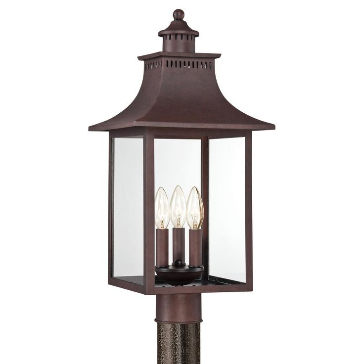 light home co pdp led solar angie three head lighting post darby