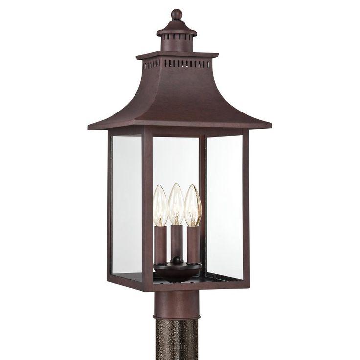 best outdoor solar lamp post lamplighters globe pumpkin lights lamps sleeves