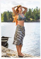 "Bikinitop ""Korall"" aus Polyamid/Elasthan"
