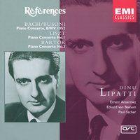 Bach/Busoni, Liszt, Bartok: Piano Concertos — Dinu Lipatti, Иоганн Себастьян Бах, Ференц Лист, Бела Барток