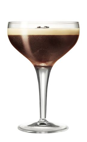 INGREDIENTS 1 part Kahlua 1.5 parts Absolut vodka 1 part espresso  HOW TO MIX IT Shake all ingredients with ice in a boston shaker. Fine strain into a chilled, stemmed martini glass.