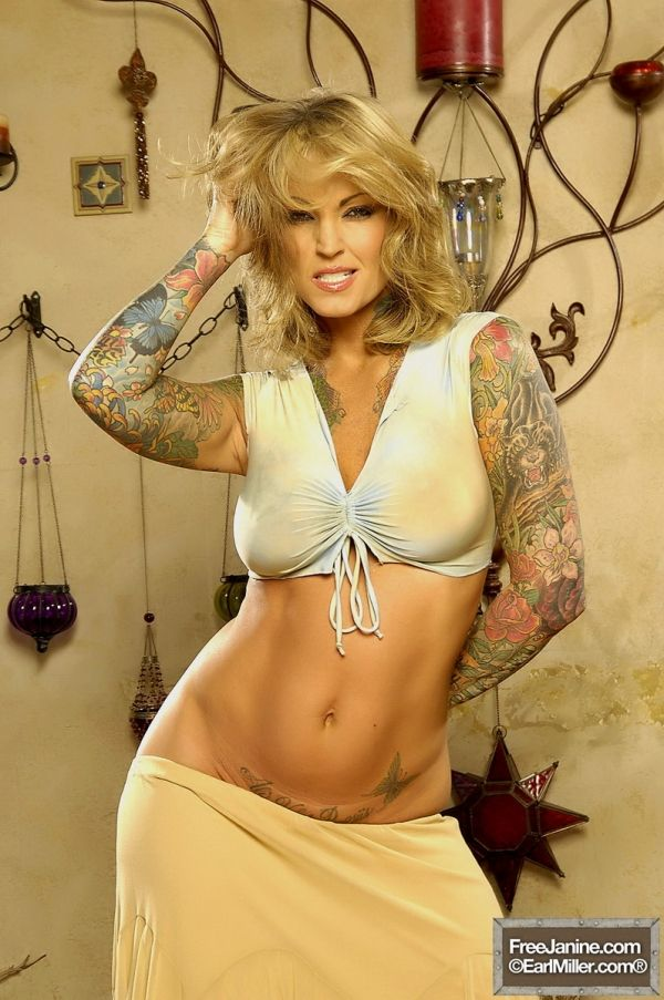 17 best images about janine lindemulder on pinterest for Sex porn tattoo