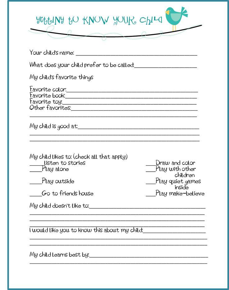 Best 25+ Parent Survey Ideas On Pinterest 1st Year Teachers   Site Survey  Template