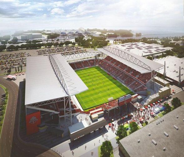 What the new BMO Field will look like in Toronto