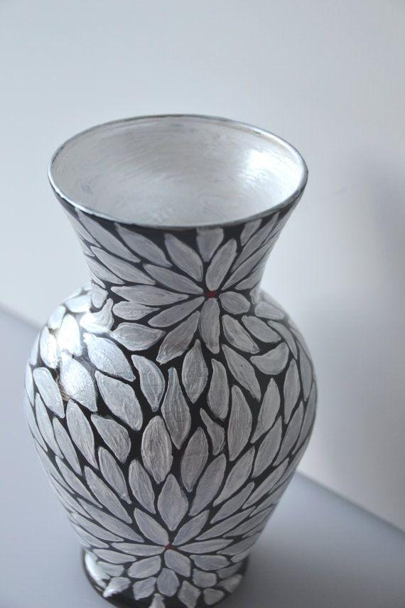 36 Best Papier Mache Vases Images On Pinterest